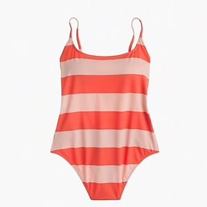 J.Crew Playa super-scoopback one-piece swimsuit